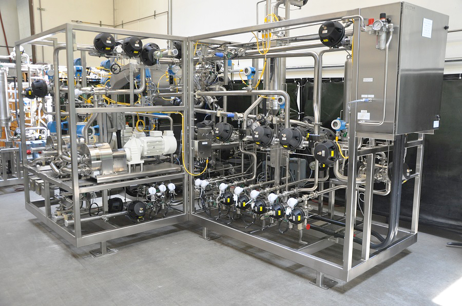 Chromatography Skid, 2 Inch, with Quattroflow QF20 Pumps