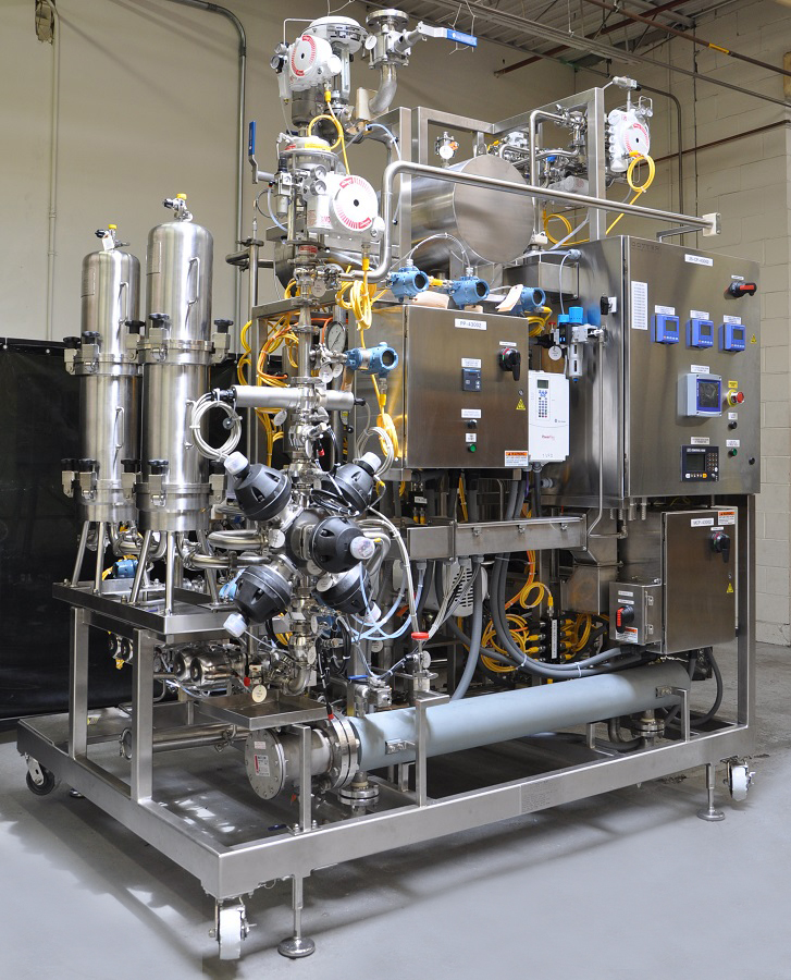 Chromatography Skid with Interchangeable Filter Housings
