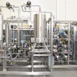 Chromatography Skid, 1-1/2 Inch, with Quattroflow Diaphragm Pumps and Split Frame Design